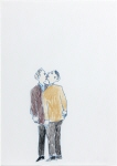 Untitled (Man Biting Another Man´s Nose)