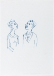Untitled (Man & Woman With Teeth Showing)