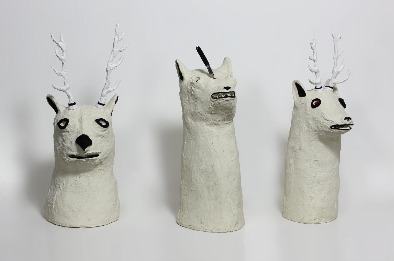 Imagen de las esculturas