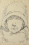 Portrait de Marie-Thérèse au chapeau