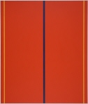"""Copy of Original Painting by Barnett Newman´s """"Who´s Afraid of Red, Yellow and Blue II"""", 1967, minus 10%"""