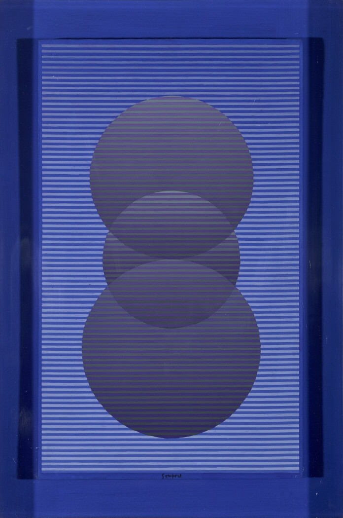 Iluminación de tres círculos convexos, 1969