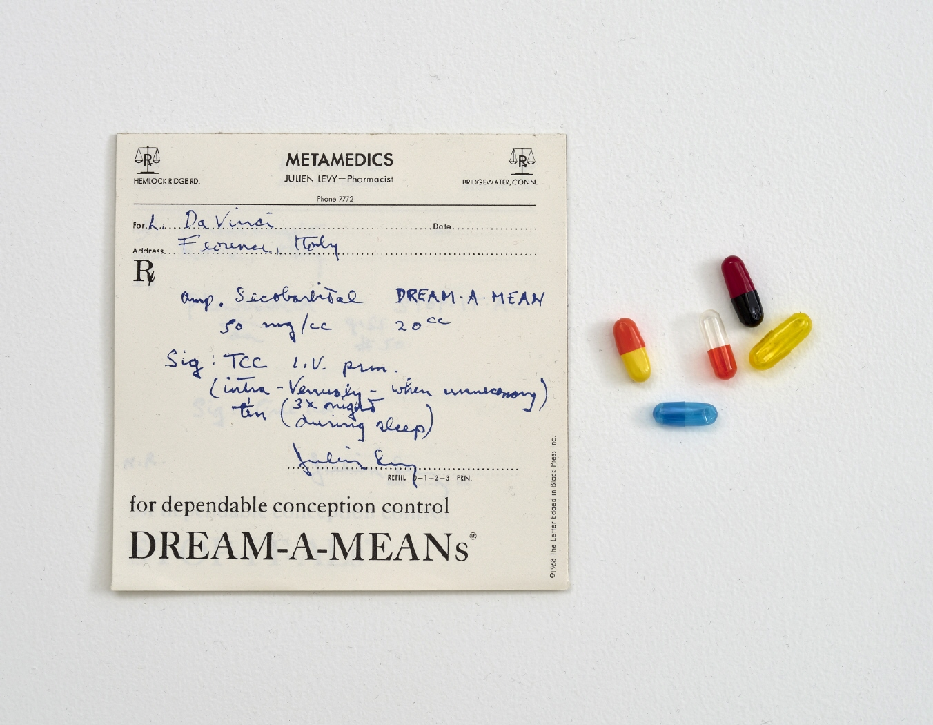 Pharmaceuticals (S.M.S. No. 1), 1968