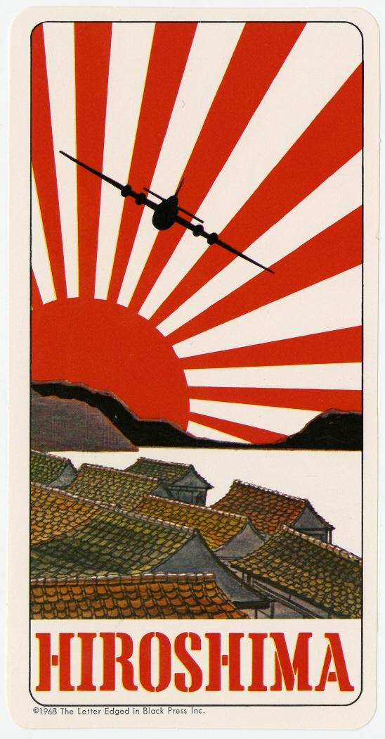 Imagen de la pegatina correspondiente a Hiroshima