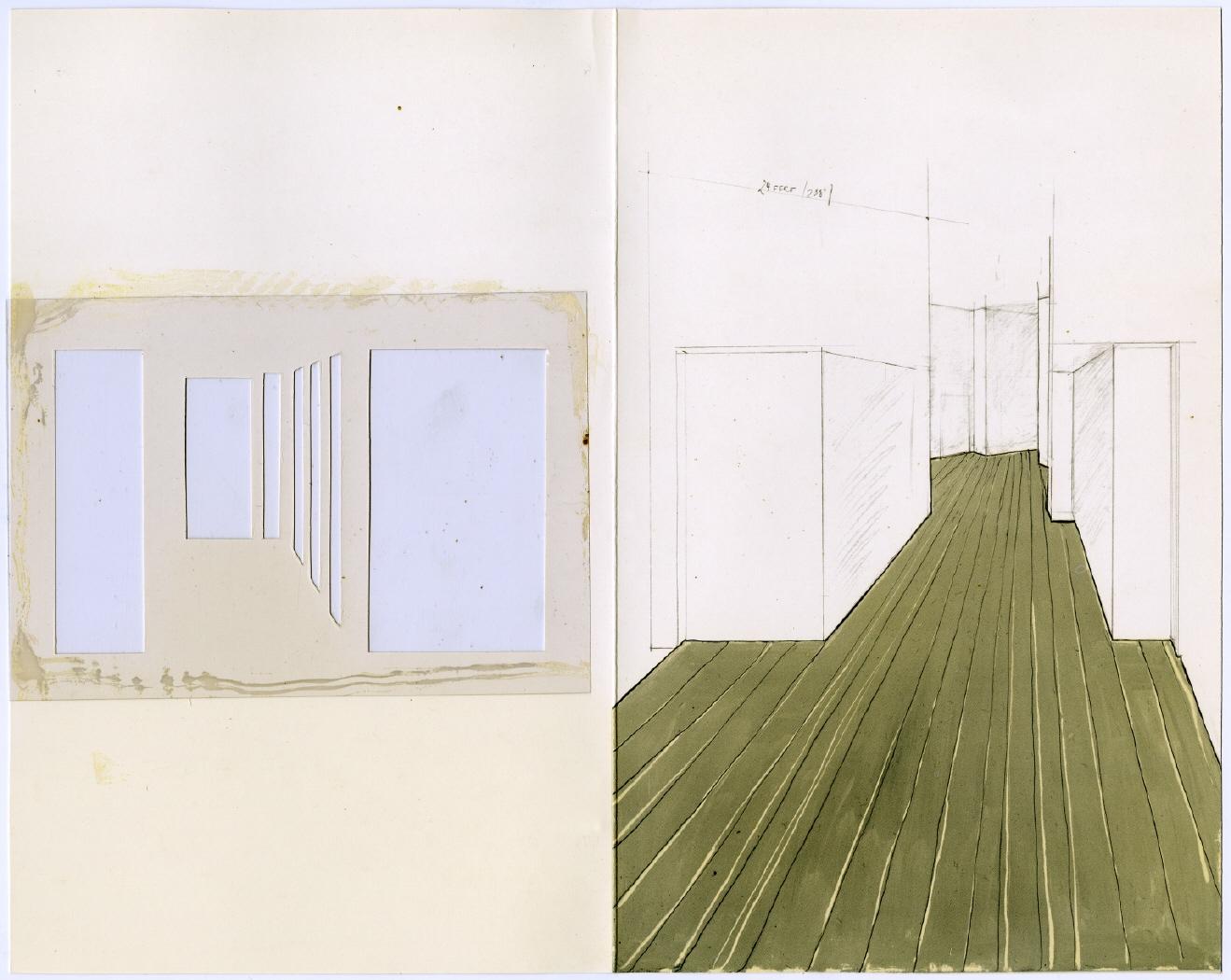 Corridor Store Front (S.M.S. No. 1), 1966-68