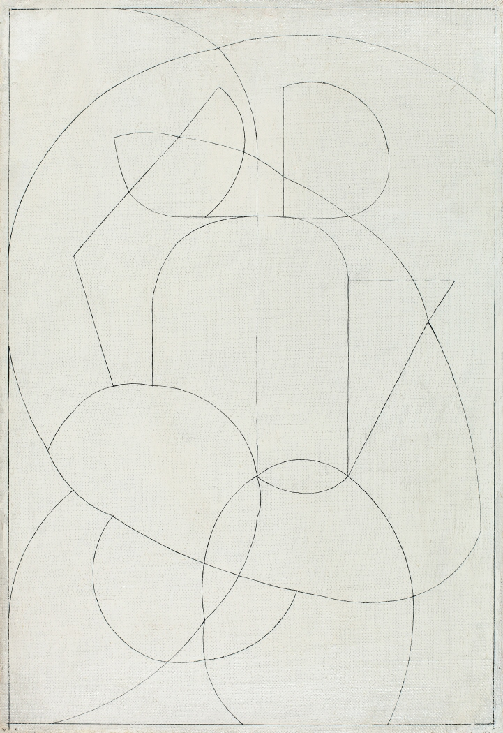 ABSTRACTION. GUERRIER. PERSONNAGE GUERRIER, 1933-1934