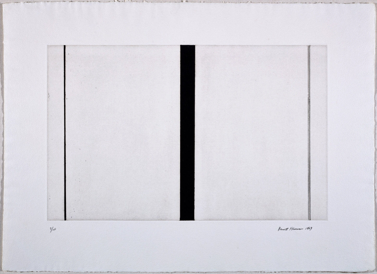 Untitled Etching #1, 1969