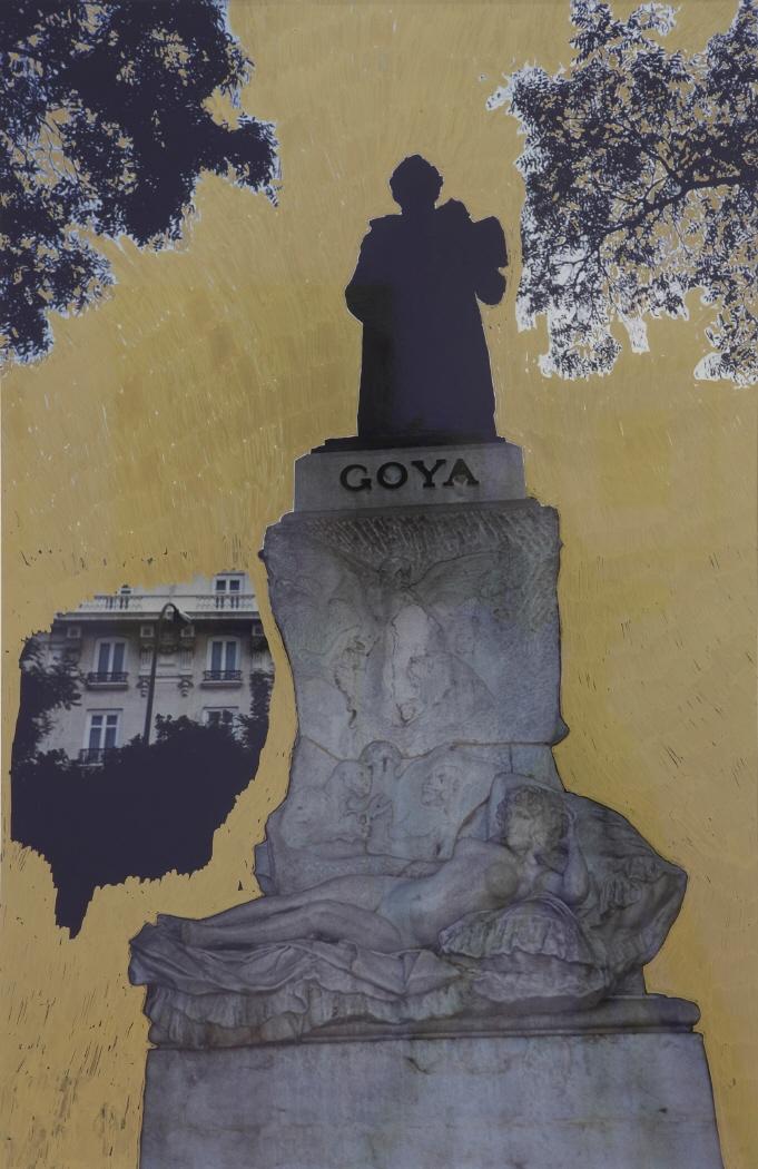 Gold Goya Statue, 2007
