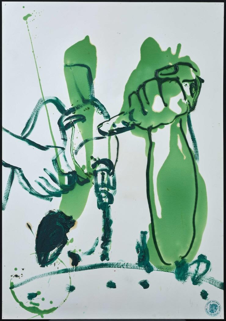 Imagen de uno de los dibujos que compone la obra