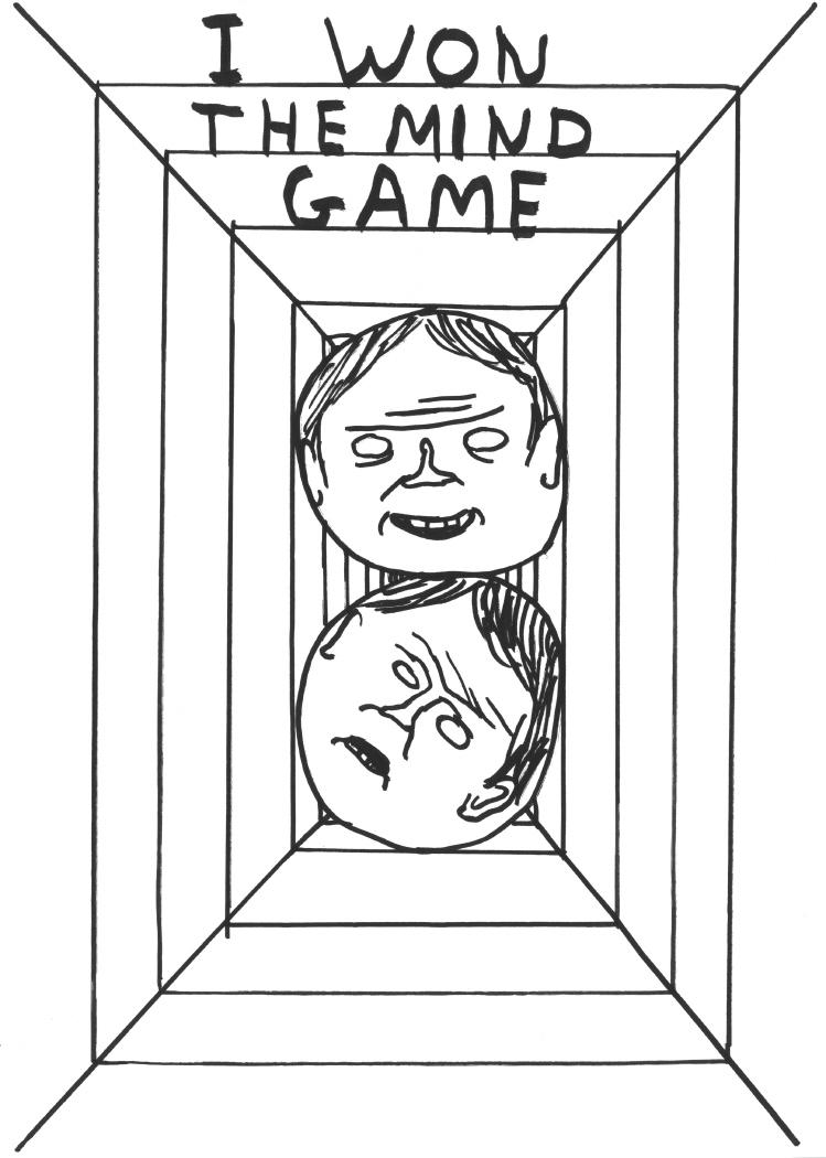 Untitled (I won the mind game) (2010)