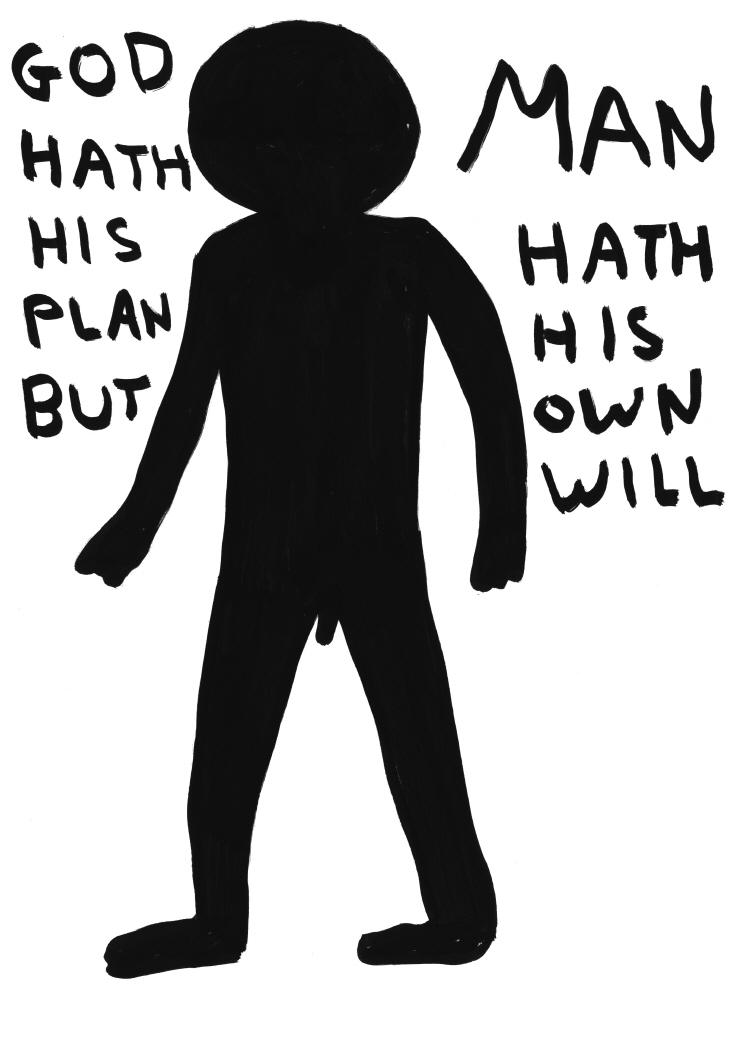 Untitled (God hath his plan) (2011)