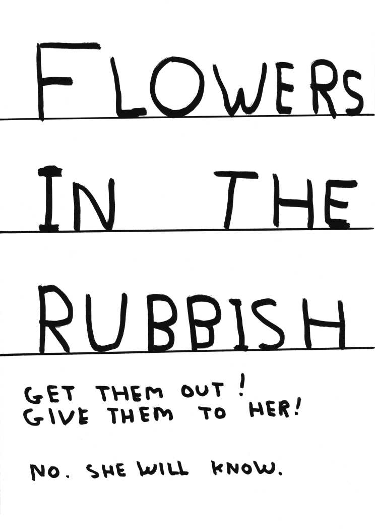 Untitled (Flowers in the rubbish) (2011)