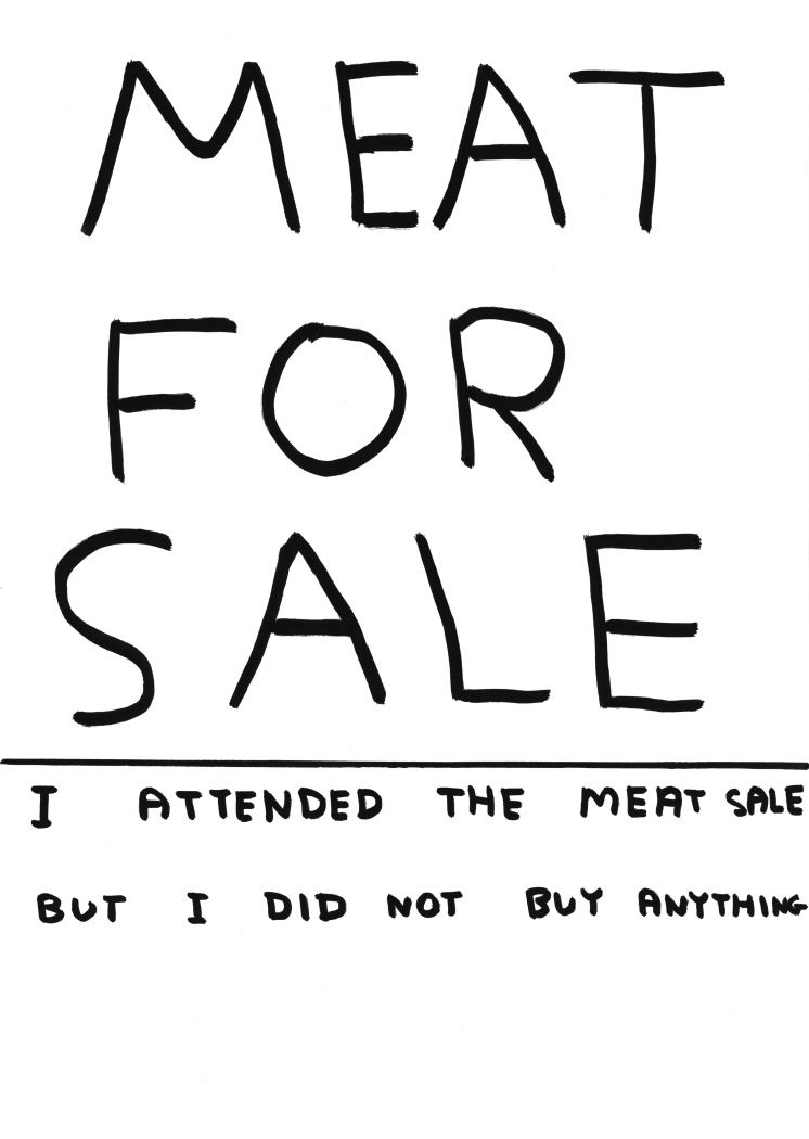 Untitled (Meat for sale) (2011)