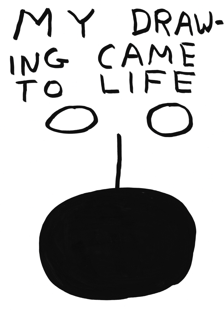 Untitled (My drawingcame to life) (2011)