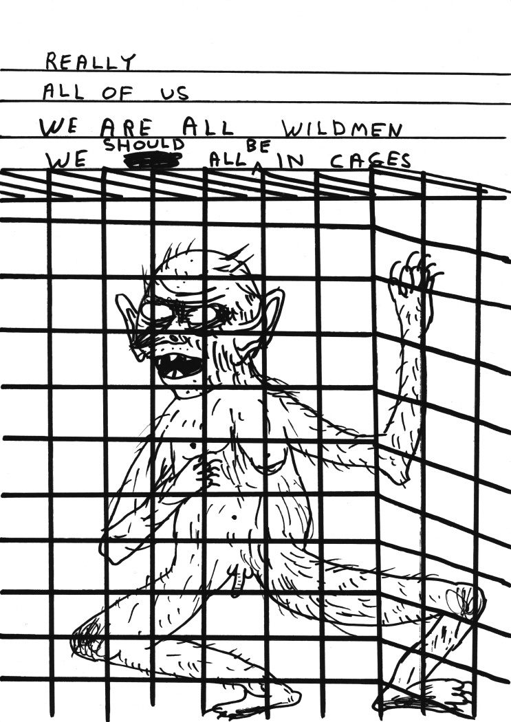 Untitled (Really all of usweare all wildmen) (2011)