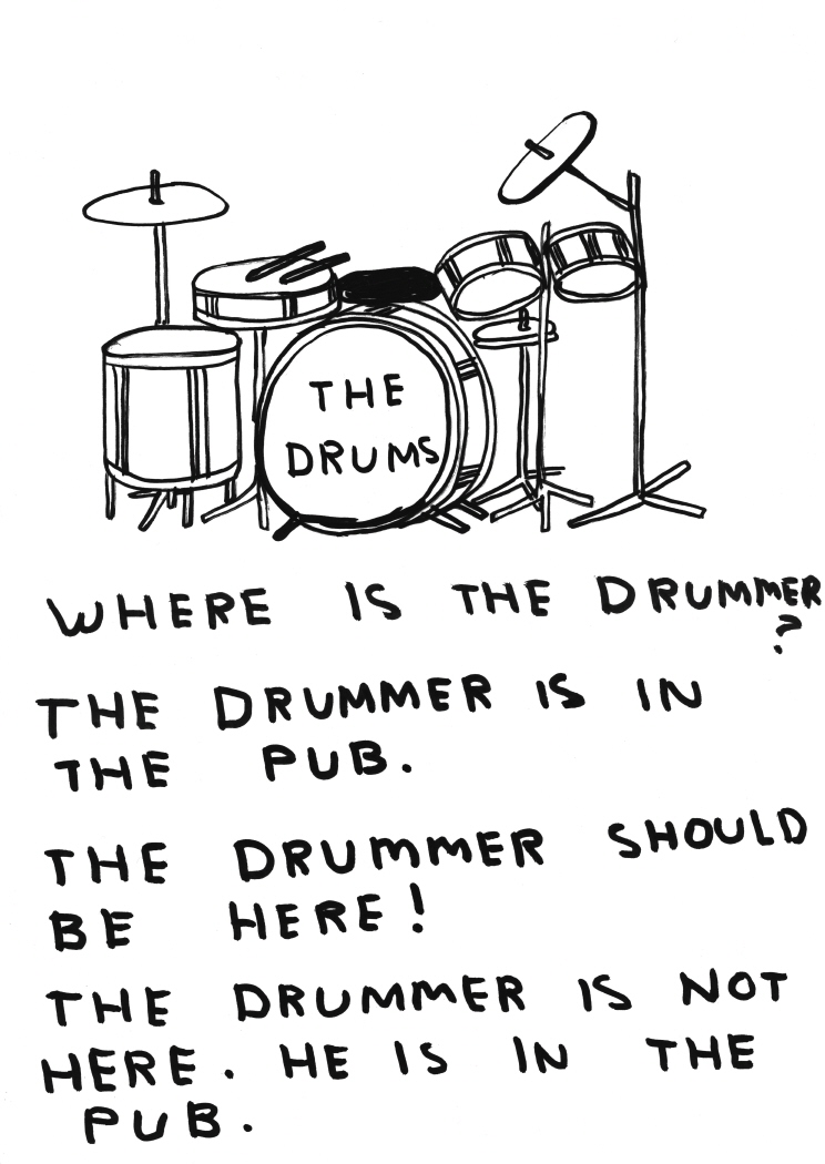 Untitled (Where is the drummer?) (2011)