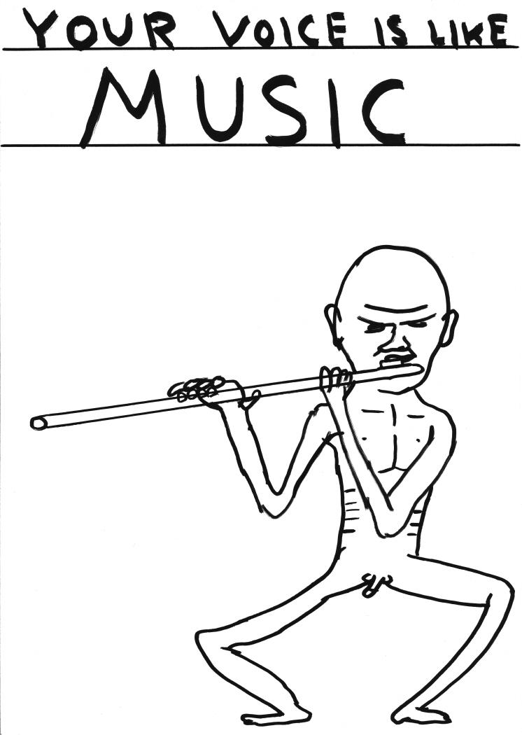 Untitled (Yourvoice is likemusic) (2011)