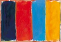 Composición en cuatro colores