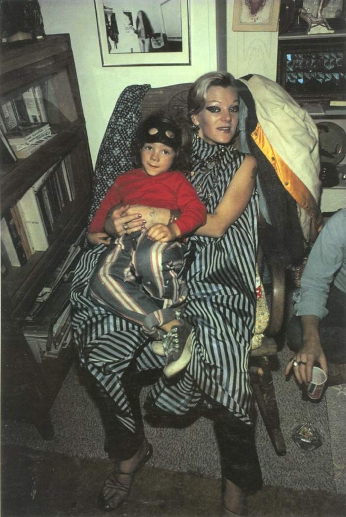 Cookie with Max at My Birthday Party, Provincentown, MA, 1976