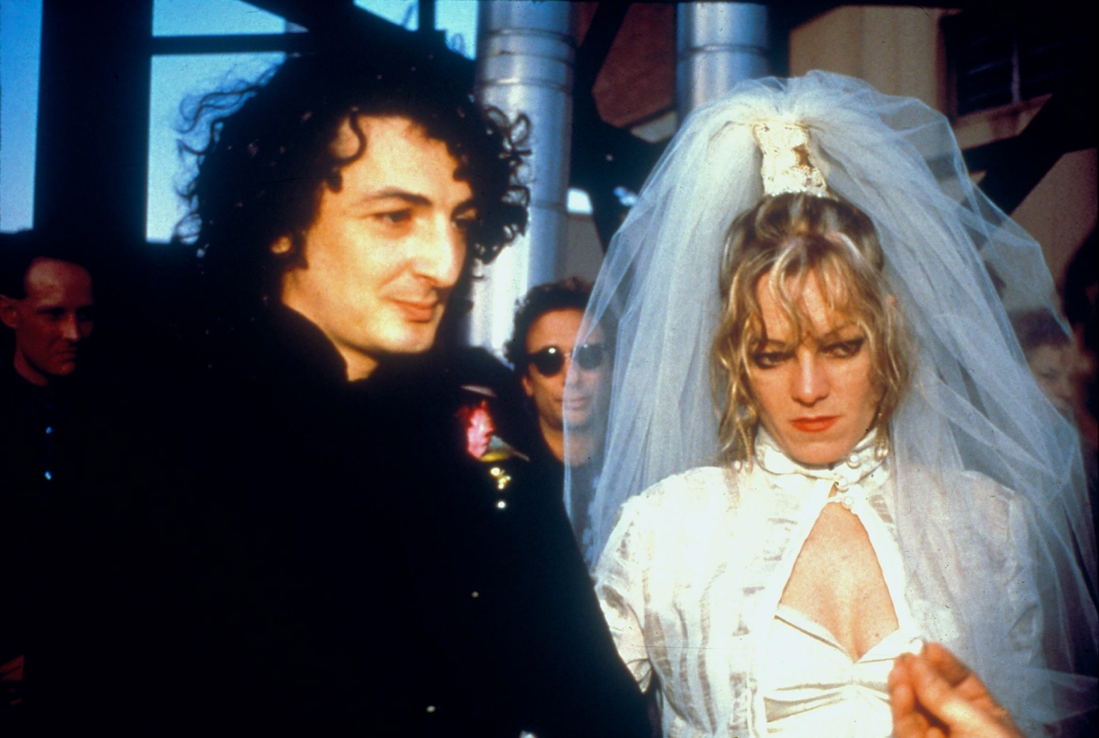 Cookie and Vittorio´s Wedding: the ring, NYC, 1986