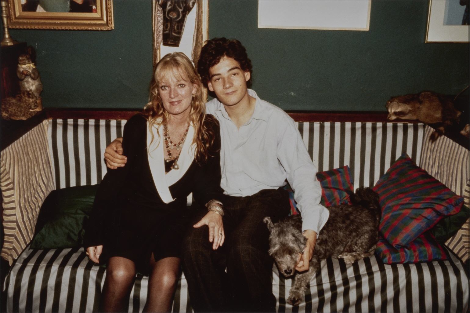 Cookie and Max, NYC, Sept., 1989