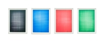 Double-layer Table Drawings (Black2/Blue2/Red2/Green2)