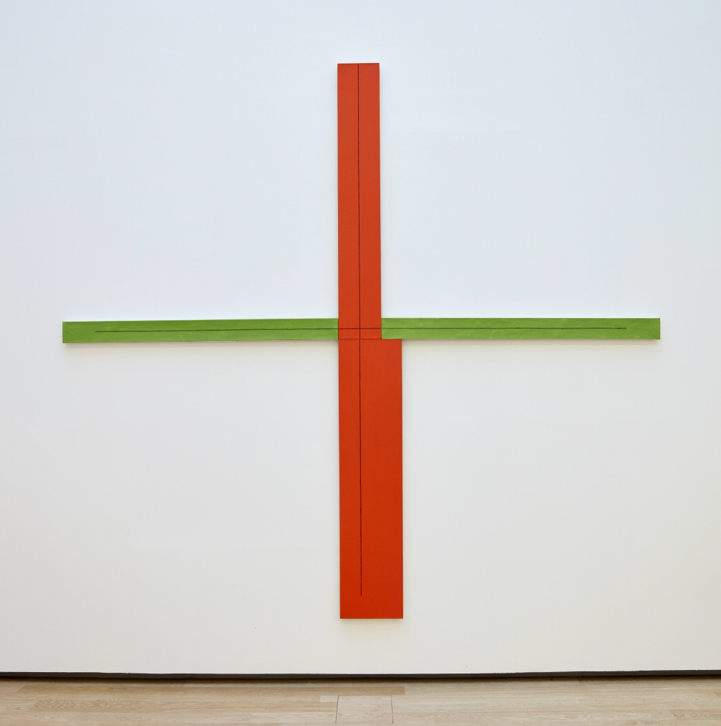 Red/Green + Within + Painting, 1982