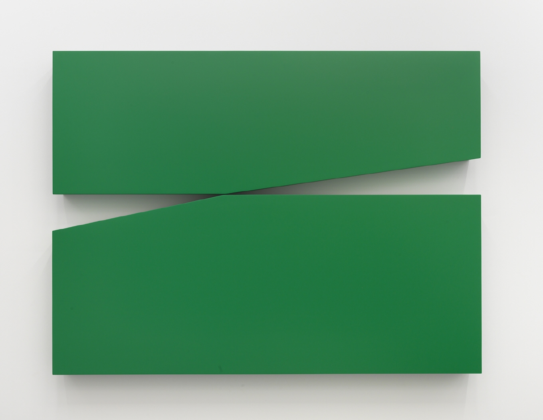 Untitled Estructura (Green), 1966