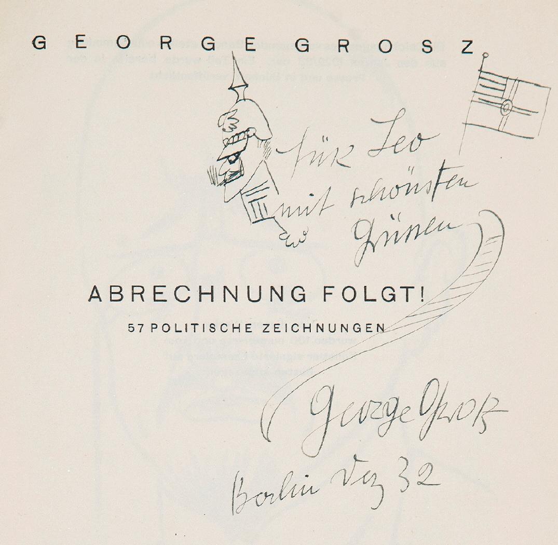 Imagen de la dedicatoria en la portada del libro