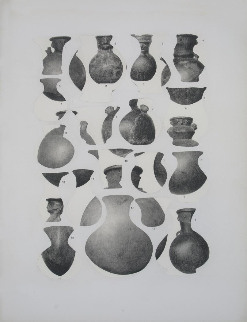 Geodesia y antropometría (vasijas), 2016