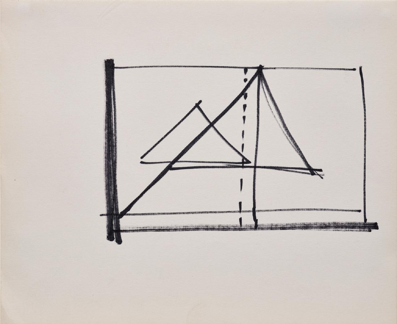 Studies for Cut Drawings (Notebook), 1974