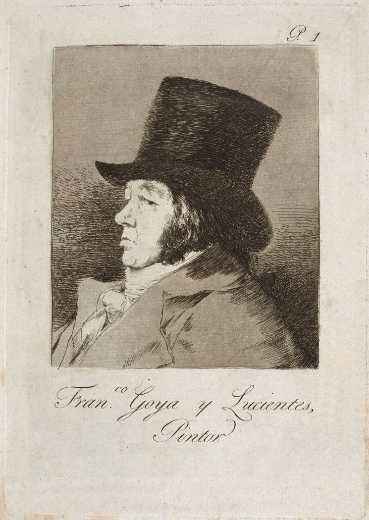 Caprichos. Francisco Goya y Lucientes, pintor, 1799