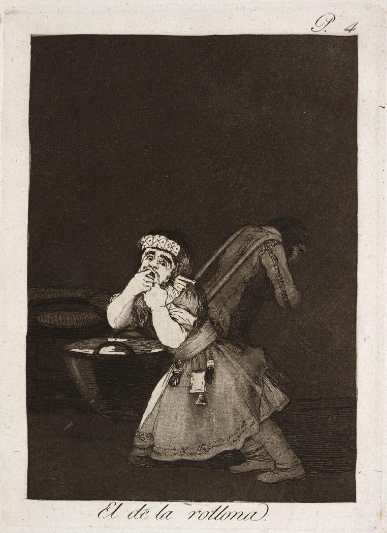 Caprichos. El de la rollona, 1799
