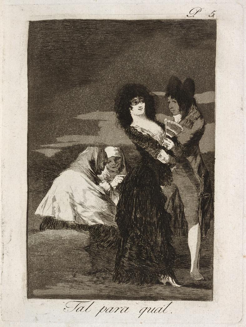 Caprichos. Tal para qual, 1799