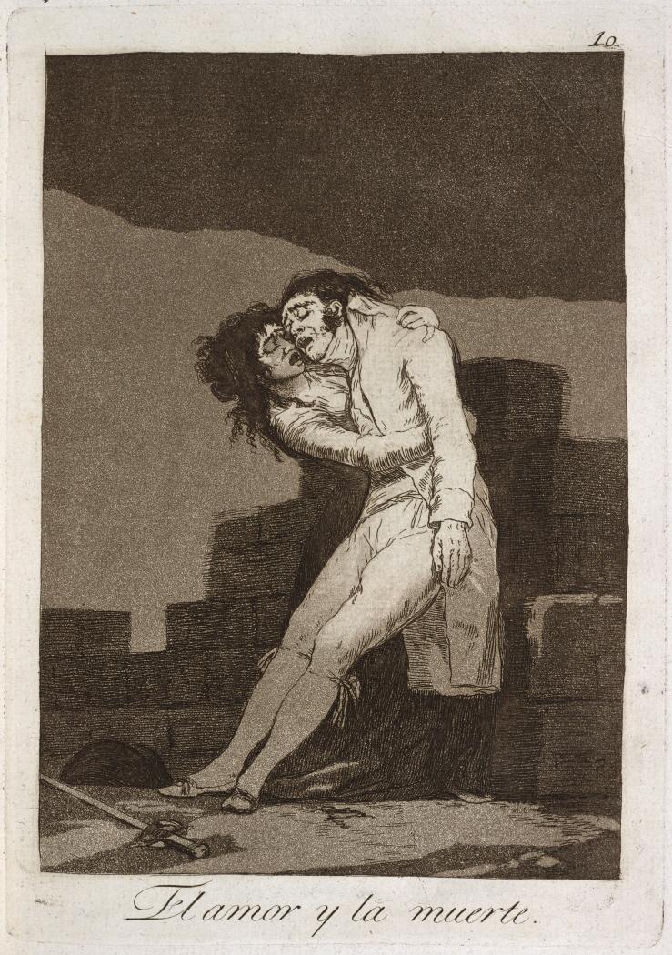Caprichos. El amor y la muerte, 1799