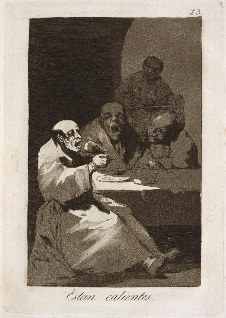 Caprichos. Estan calientes, 1799