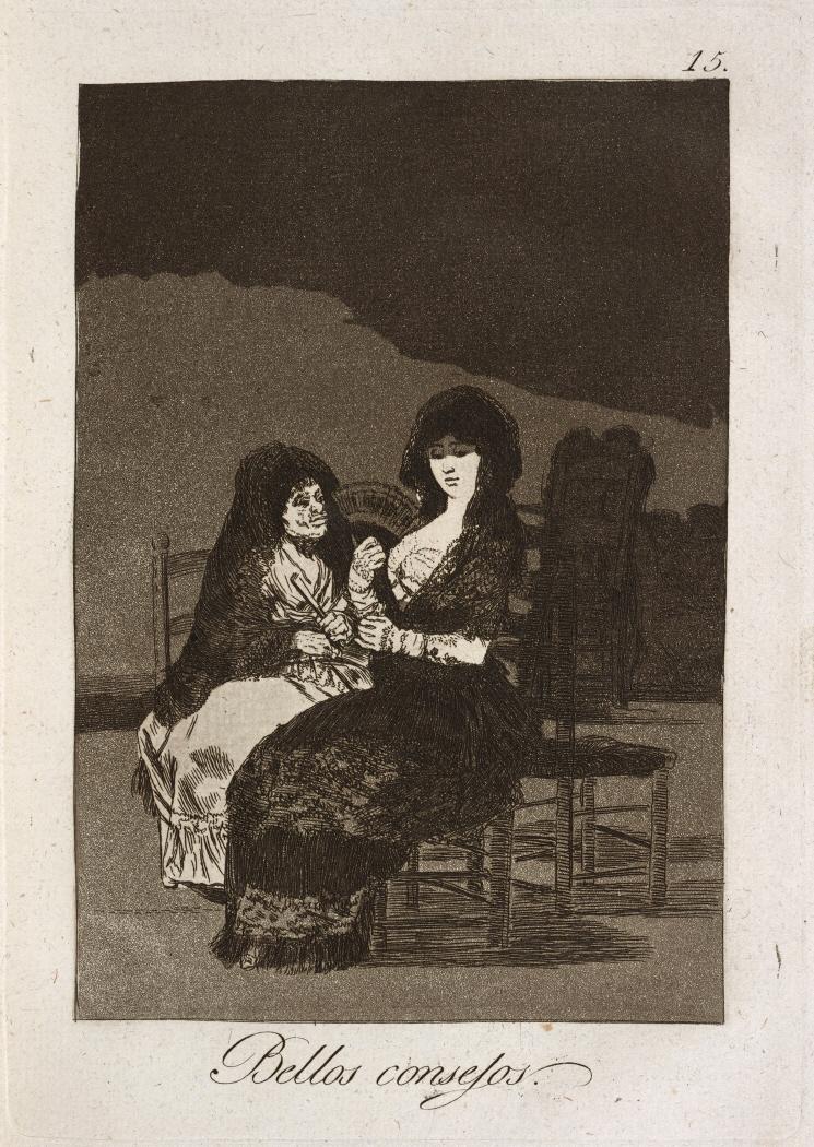Caprichos. Bellos consejos, 1799
