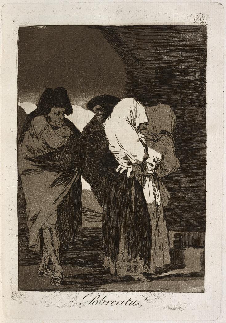 Caprichos. Pobrecitas!, 1799