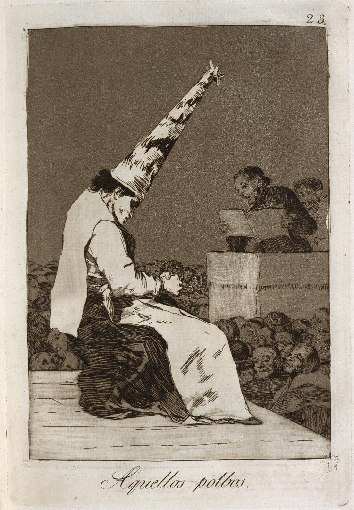 Caprichos. Aquellos polbos, 1799