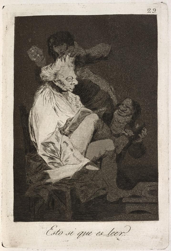 Caprichos. Esto si que es leer, 1799