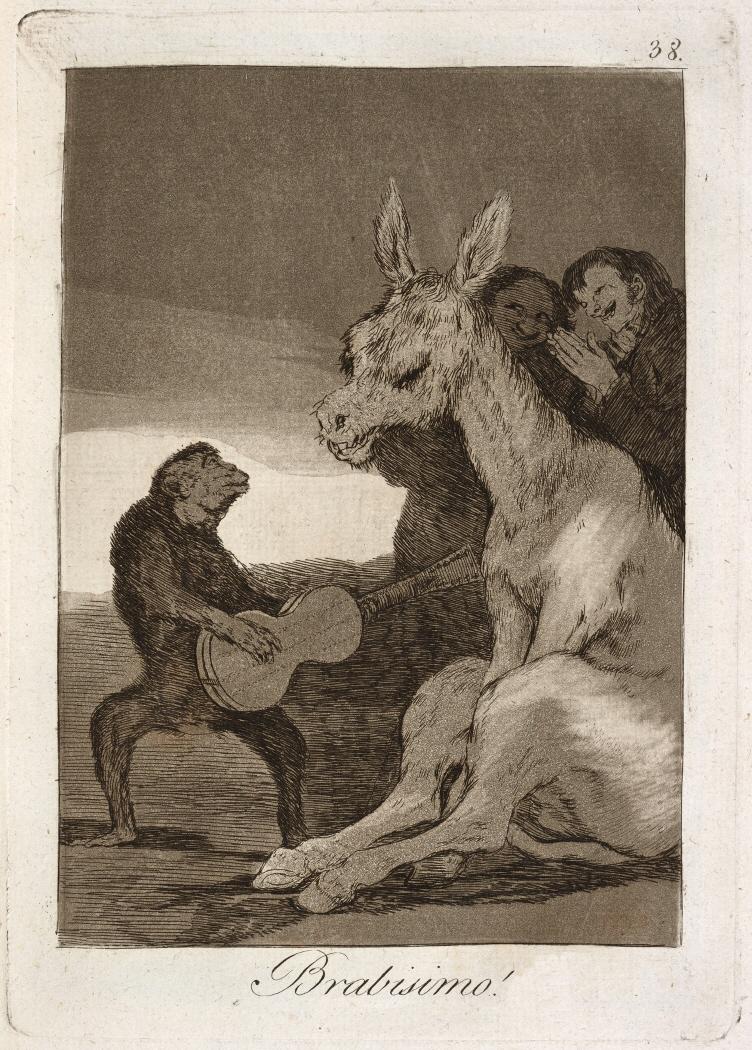 Caprichos. Brabisimo!, 1799
