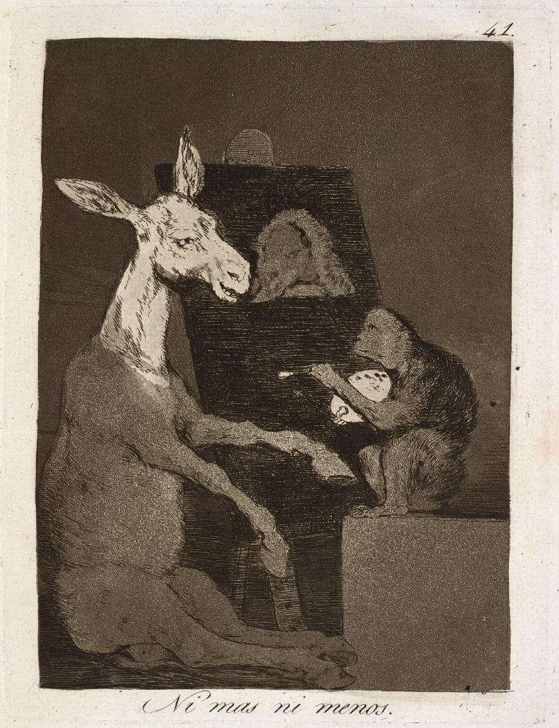 Caprichos. Ni mas ni menos, 1799