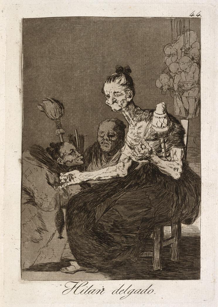 Caprichos. El sueño de la razon produce monstruos, 1799