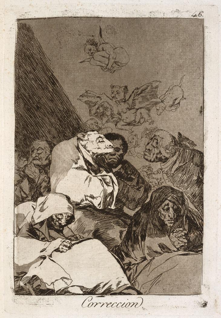 Caprichos. Correccion, 1799