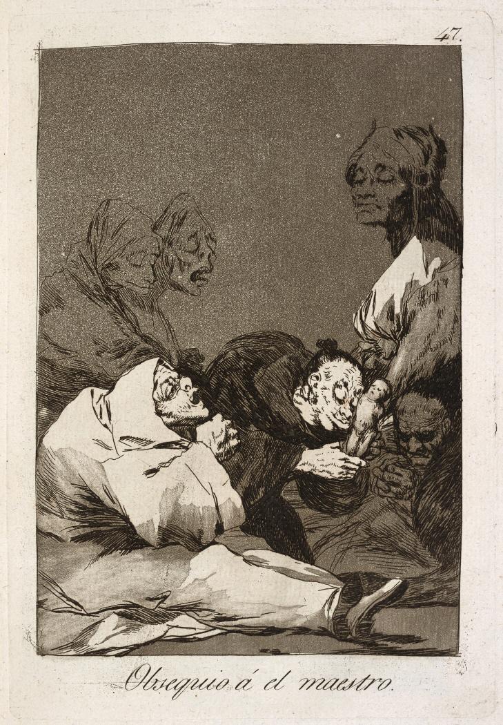 Caprichos. Obsequio á el maestro, 1799