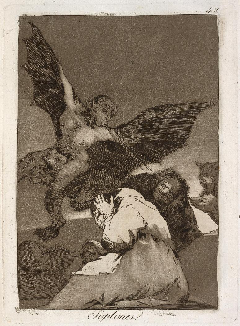 Caprichos. Soplones, 1799