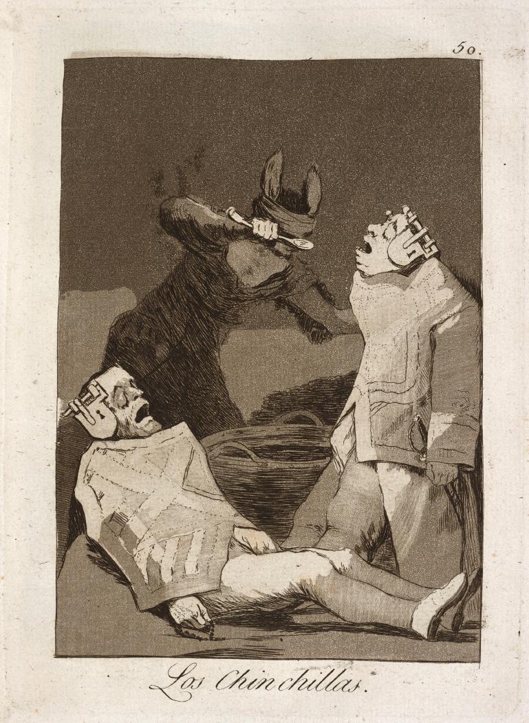 Caprichos. Los Chinchillas, 1799