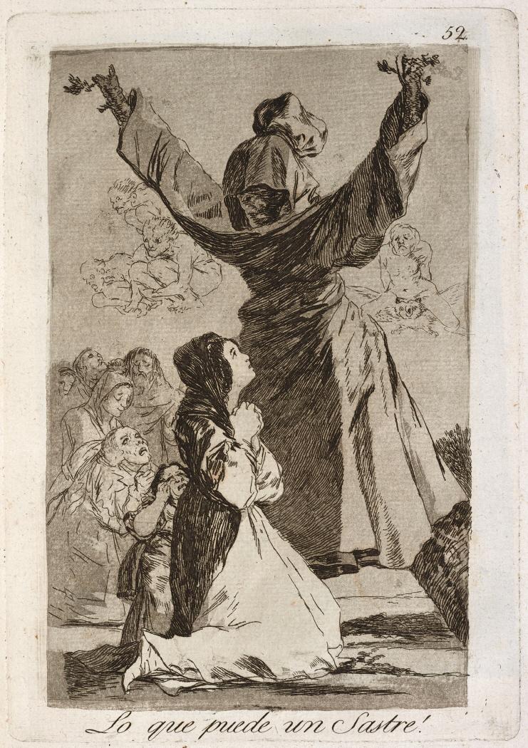 Caprichos. Lo que puede un Sastre!, 1799