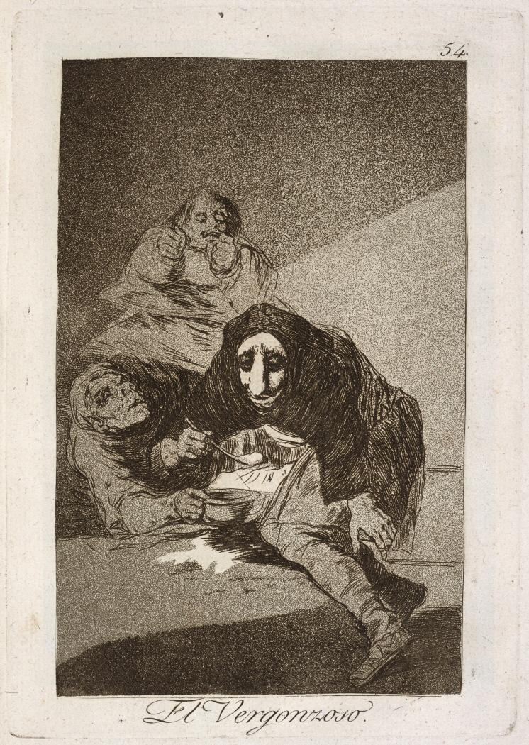 Caprichos. El Vergonzoso, 1799