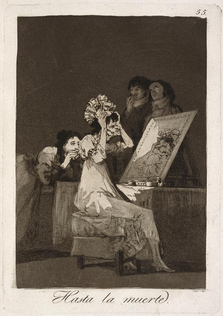 Caprichos. Hasta la muerte, 1799